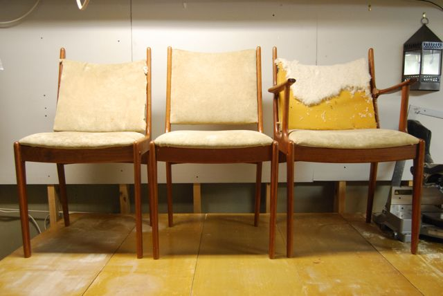 Uldum Mobelfabrik Danish Modern Trash Chairs1