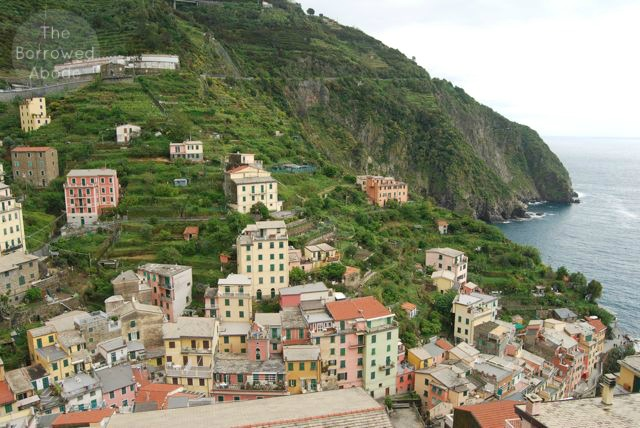 Cinque Terre Riomaggiore View | The Borrowed Abode