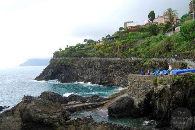 Cinque Terre Ocean | The Borrowed Abode