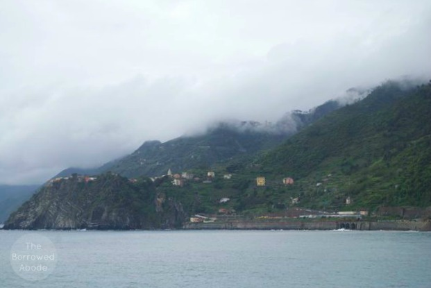 Cinque Terre Italy Thunderstorm | The Borrowed Abode