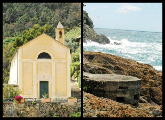 Bonassola Italy Church   The Borrowed Abode