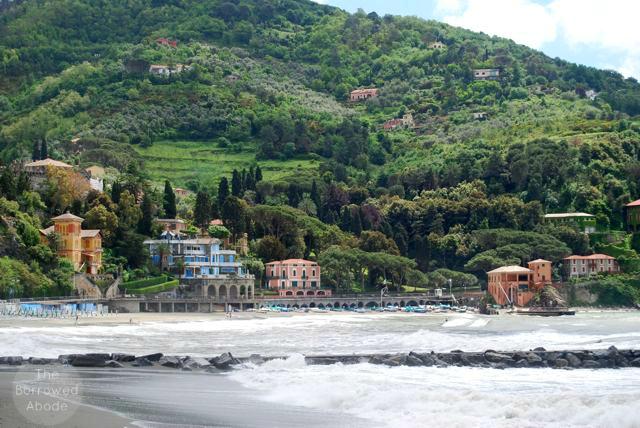 Levanto Italy Beach Cinque Terre | The Borrowed Abode