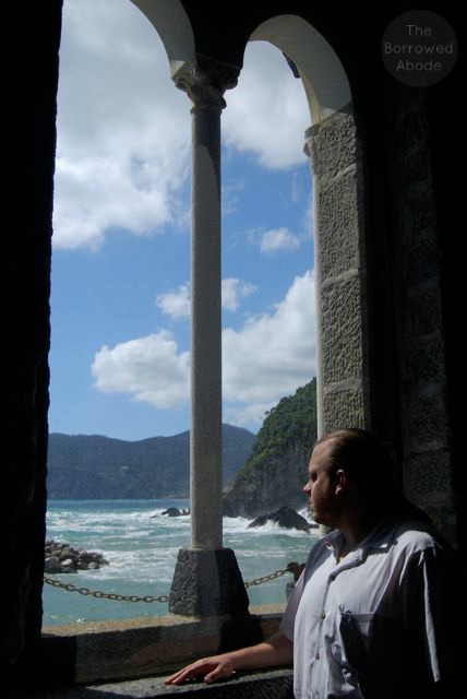 Vernazza Church Window | The Borrowed Abode