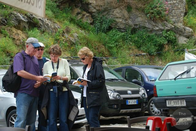 Vernazza Rick Steves Tourists   The Borrowed Abode