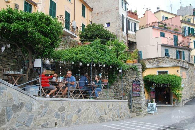 Corniglia Outdoor Wine Bar Cinque Terre | The Borrowed Abode