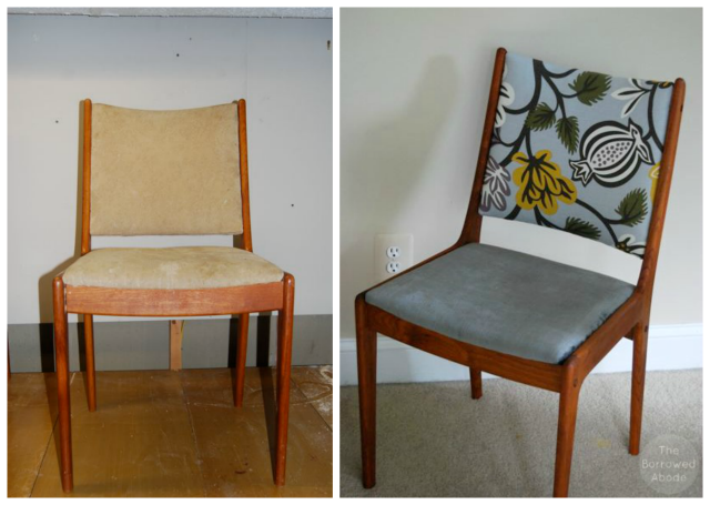 Trash Chair Before After