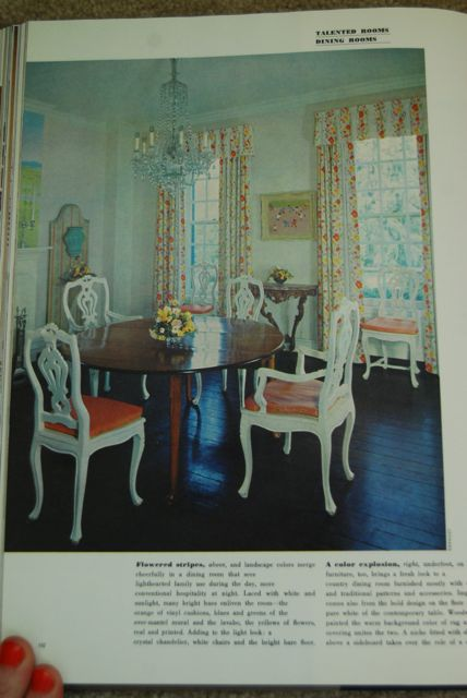 Vintage Dining Room | The Borrowed Abode