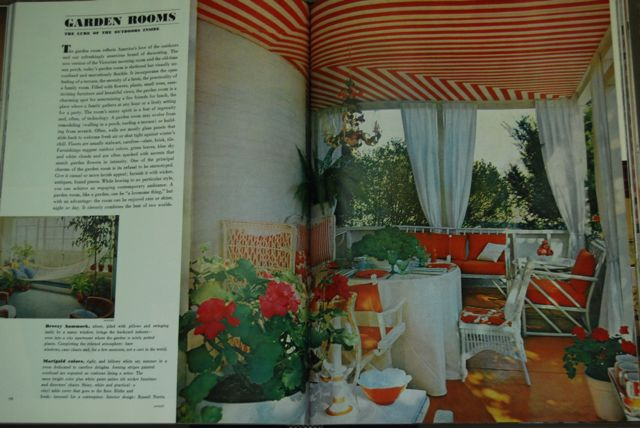 Vintage Sun Porch | The Borrowed Abode
