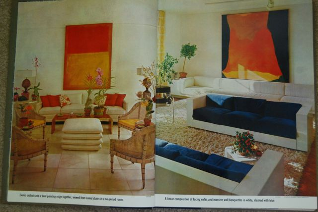 Colorful Vintage Art | The Borrowed Abode