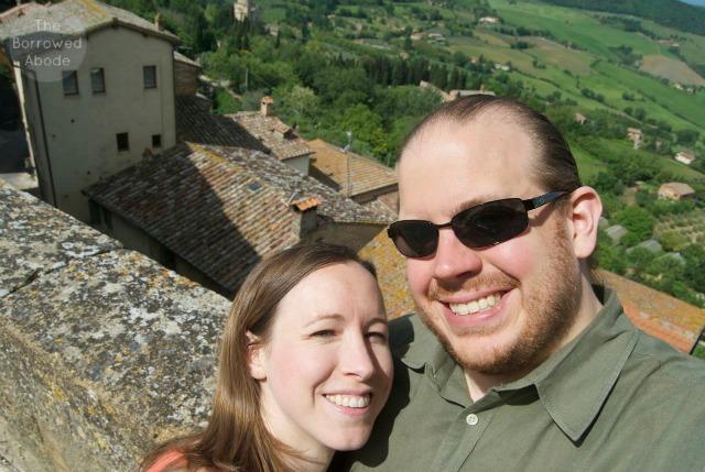 Jane Ryan in Montepulciano Tuscany