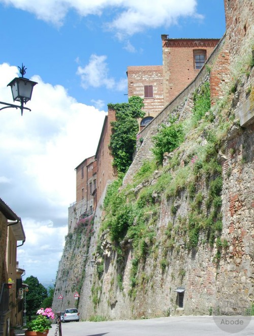 Montepulciano Old Town Wall Tuscany