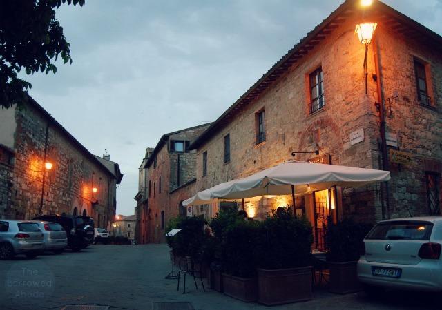 Osteria Del Conte Montepulciano Tuscany