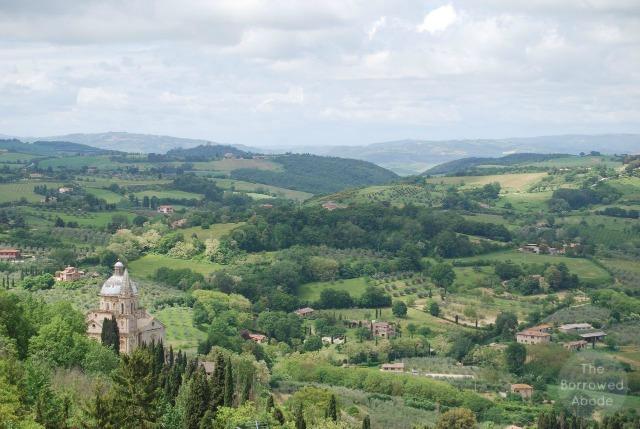 View Hotel Camere Bella Vista Montepulciano Tuscany 1