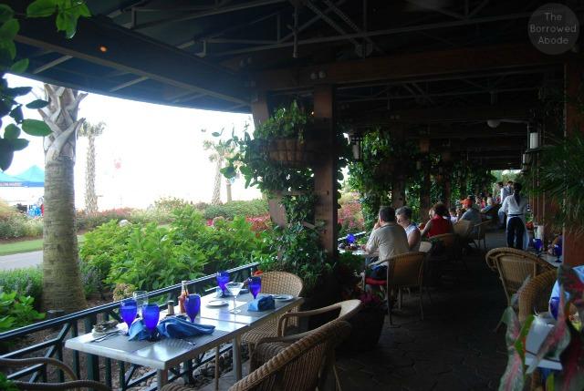 31 Ocean Beachfront Restaurant Hilton Virginia Beach Patio