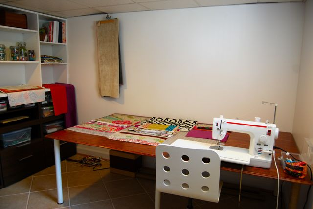 Sewing Studio The Borrowed Abode1
