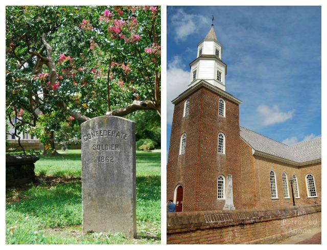 Colonial Williasmburg Church Virginia