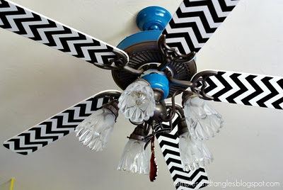 Ceiling Fan at Dimples and Tangles
