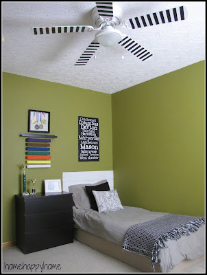 Ceiling Fan Makeover at Home Happy Home