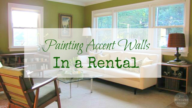 Painting Accent Walls in a Rental