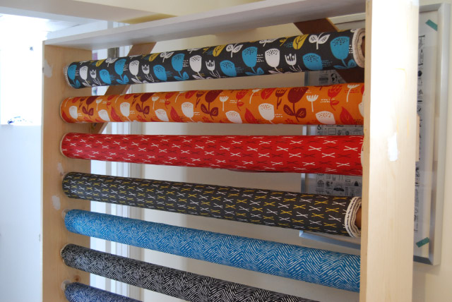 DIY Fabric Bolt Storage Rack-1-1