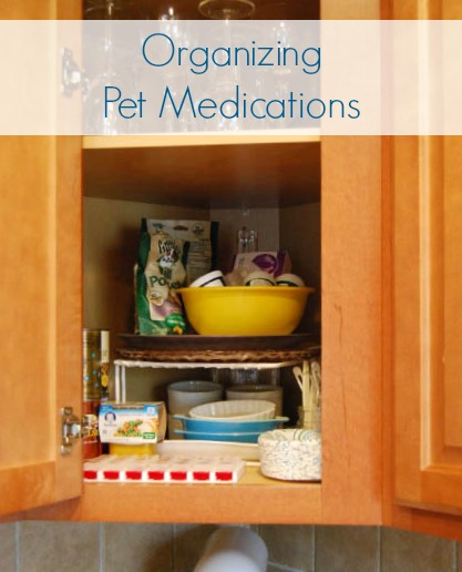 Organizing Pet Medications
