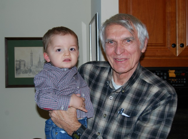 Grandpa and Adam