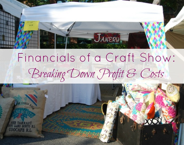 Profit and Costs of a Craft Show