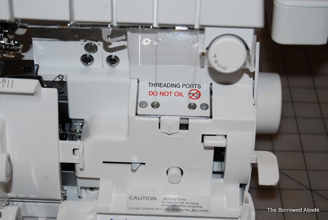 Babylock Imagine Serger Jet Air Threading