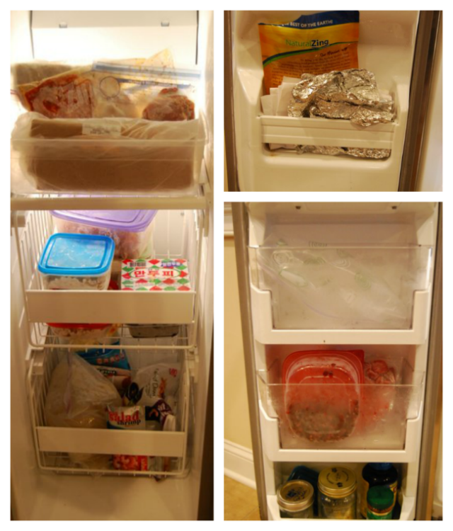 Freezer Storage Ideas