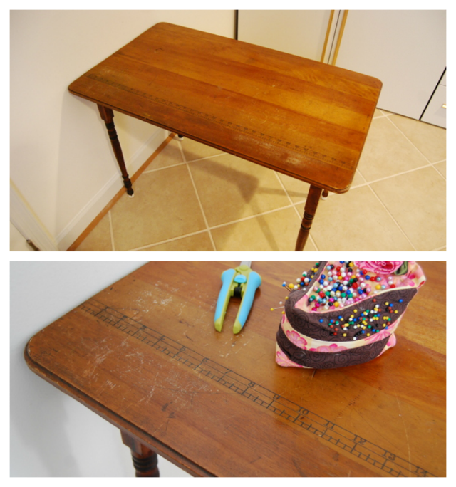 Antique Simplicity Sewing Table