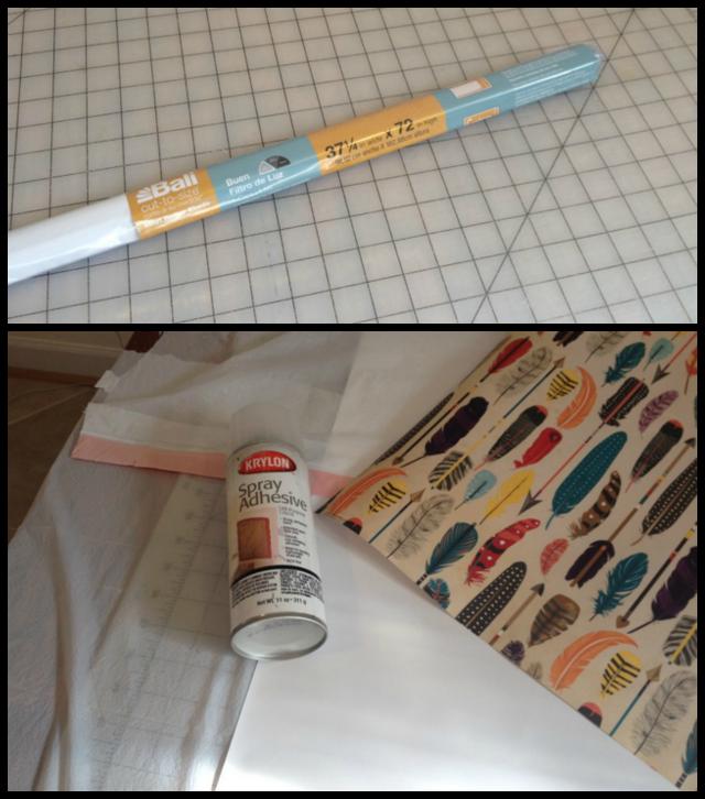 Embellishing Plastic Roller Blind