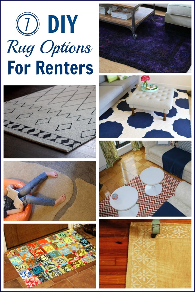 7 DIY Rug Options for Renters