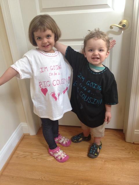Niece Nephew Baby Announcement