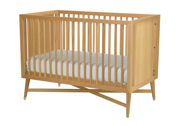 DwellStudio Mid Century Natural Crib Imported 1