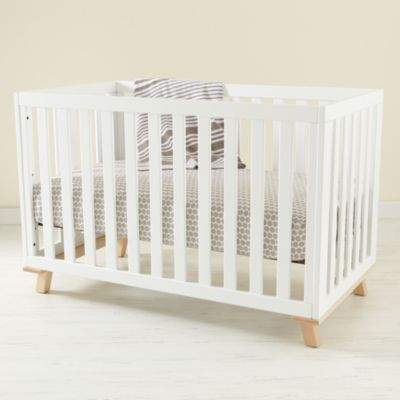 Low-Rise Crib Made in the USA The Land of Nod