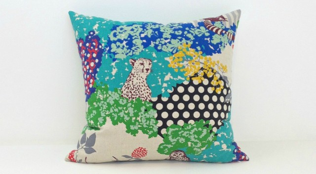 Janery Pillow Forest Creatures 2 Natural 1000sq