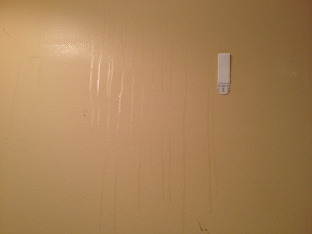 Bathroom Wall Condensation