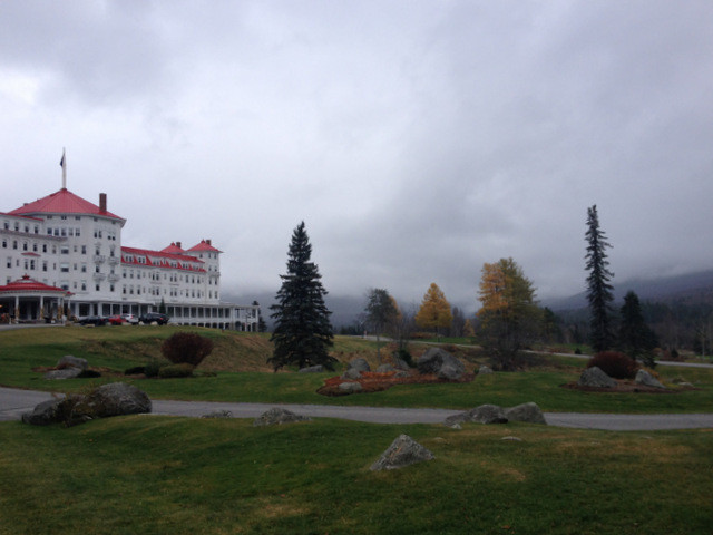 Omni Mt Washington New Hampshire Winter Cloudy