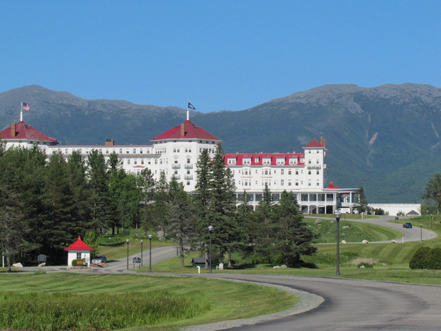 Omni Mount Washington Spring New Hampshire
