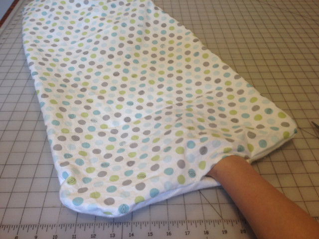 Waterproof Changing Pad Mat Turning Out