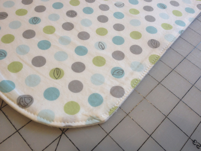 Waterproof Changing Pad Mat Topstitch