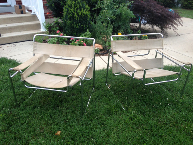 Roadside Find Vintage Wassily Chairs
