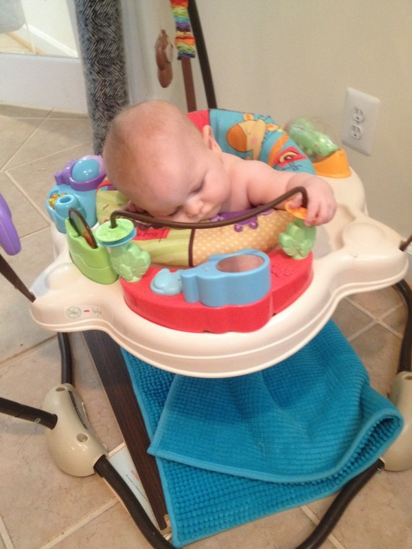 WITL Maple Asleep Bouncer