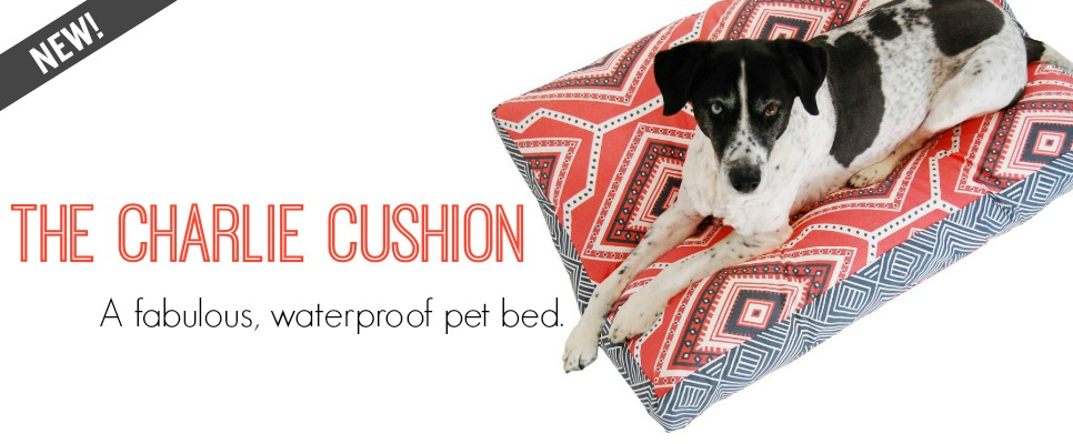 Janery Charlie Cushion Waterproof Designer Dog Bed