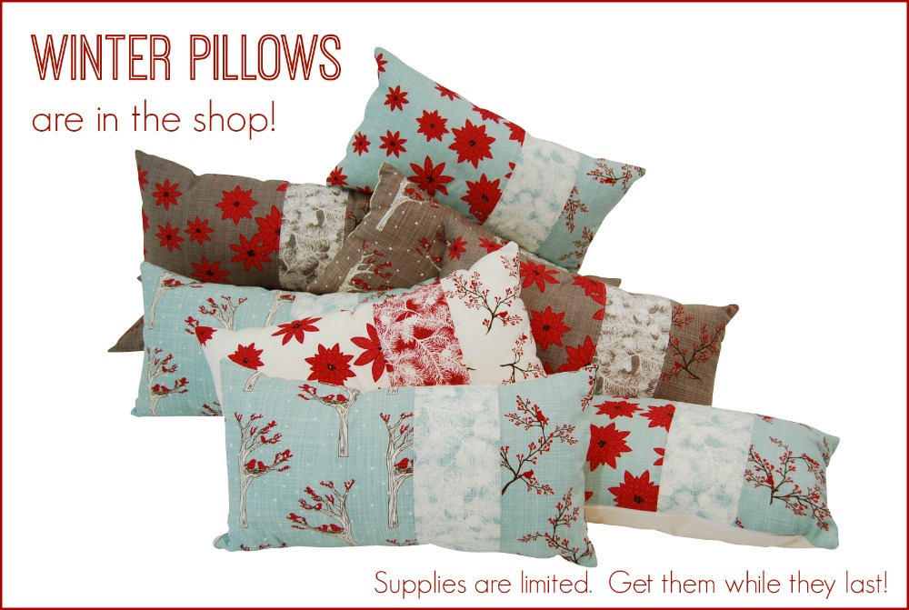 Janery Winter Pillows Holiday Pillows