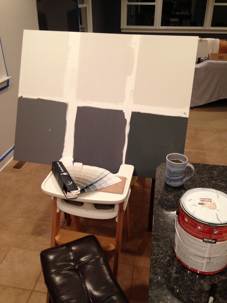 Kitchen Painting High Chair Command Center