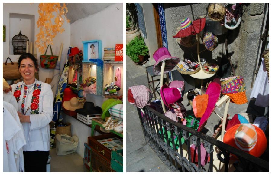 2016 Italy Corniglia Cinque Terre Handmade Hat Shop