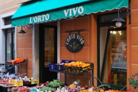 2016 Italy Levanto Cinque Terre Fresh Vegetable Market