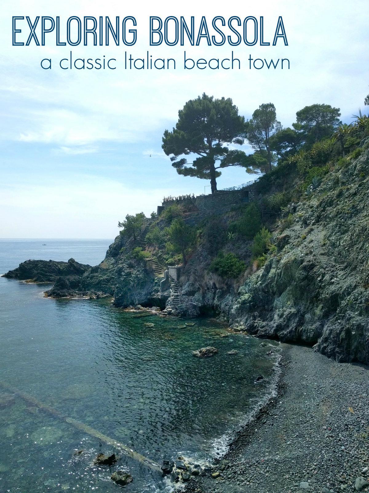 2016 Italy Bonassola Ligurian Beach Town
