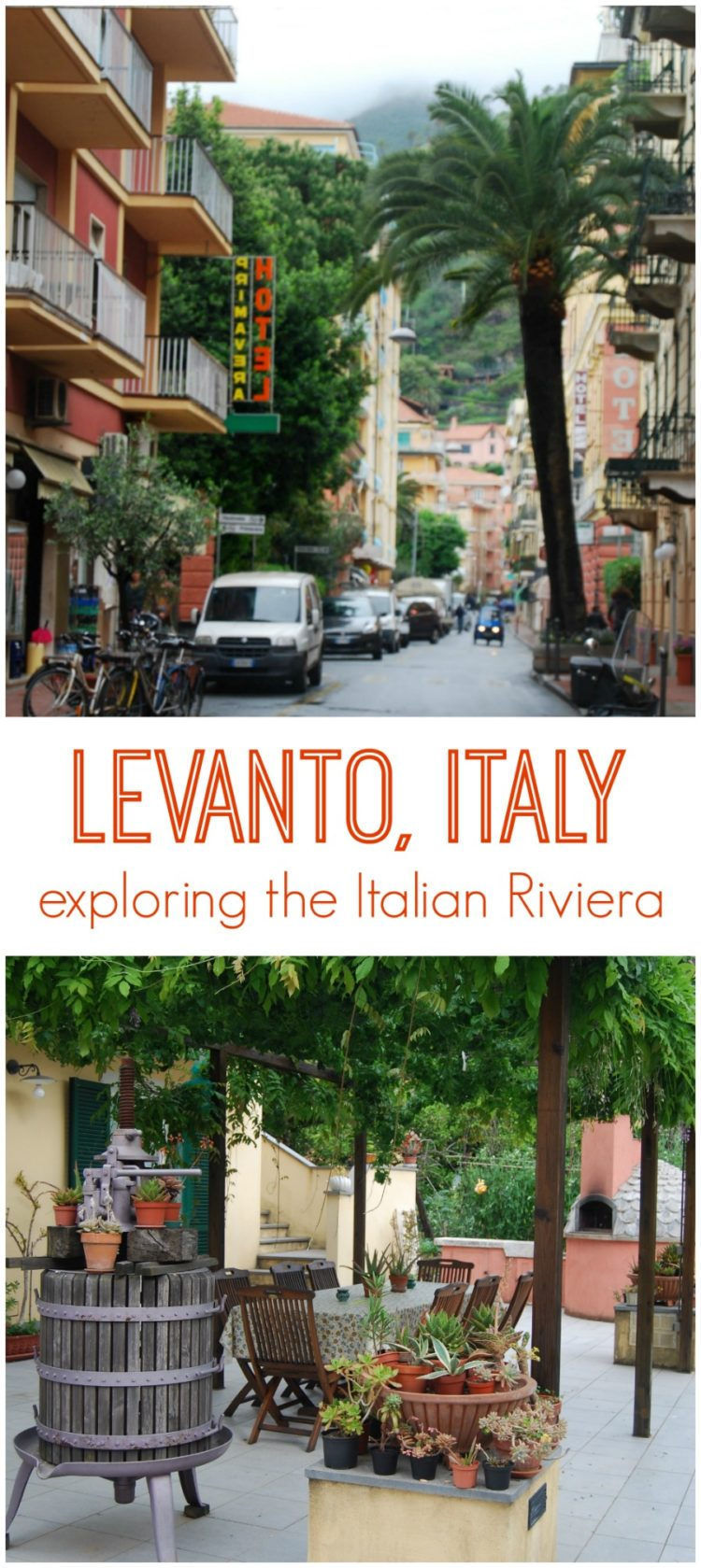 Exploring Levanto, Italy, our favorite seaside town on the Italian Riviera right by the Cinque Terre.